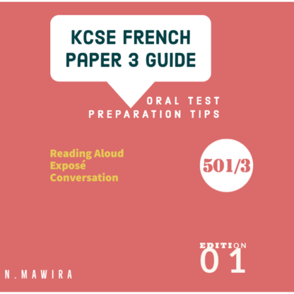 French paper 3 guide